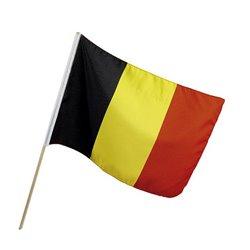 Drapeau Belgique 32 x 49 cm