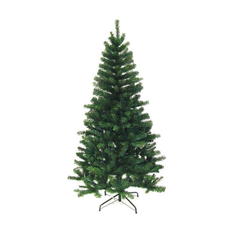 Sapin de Noël artificiel vert 150cm 230 branches.