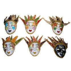 Masque Vénitien avec Grelots Différents Modèles