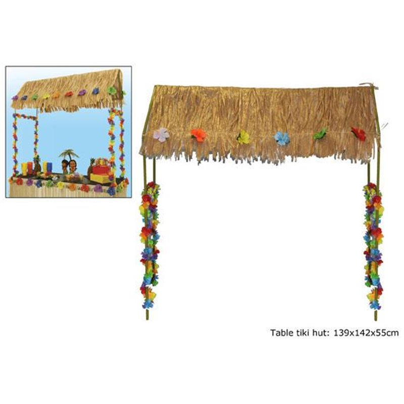 Chapeau de table Tiki