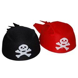 Bandana de pirate rouge
