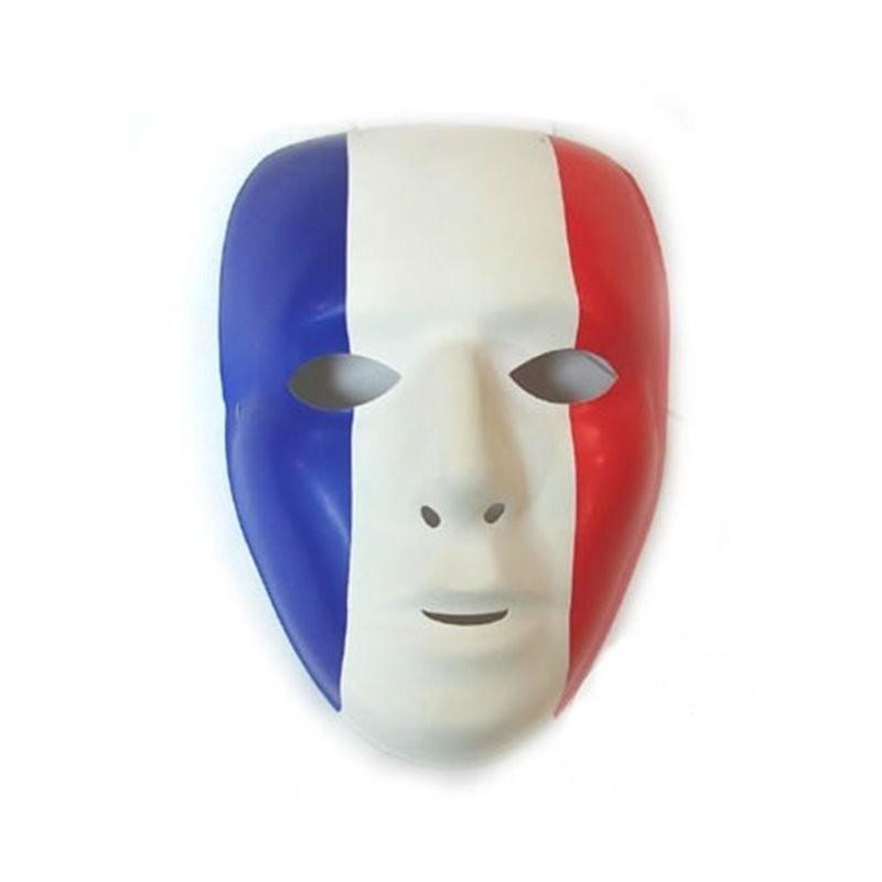 Masque Coque France Bleu Blanc Rouge