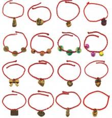 Lot de 10 Bracelet porte bonheur mixte