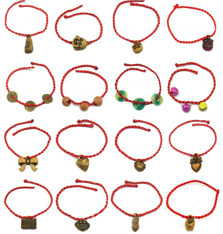 Bracelet porte bonheur mixte