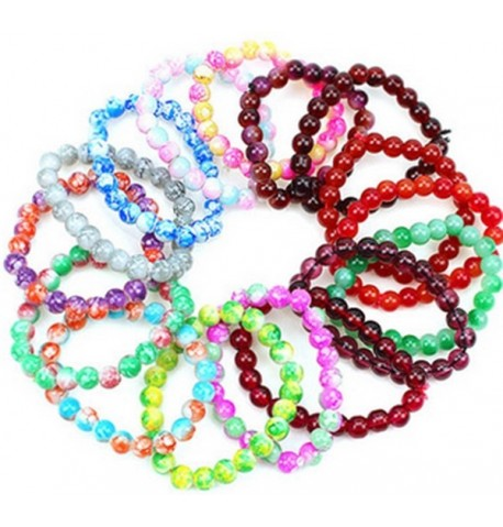 bracelet perle couleur