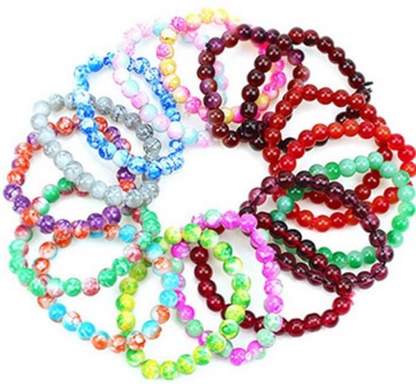 Bracelet perle couleur mixte