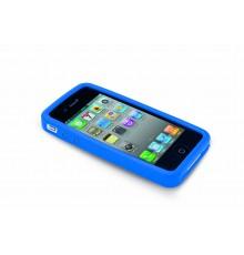 Étui iPhone Zora de Couleur Bleu