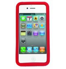 Étui iPhone Zora de Couleur Rouge