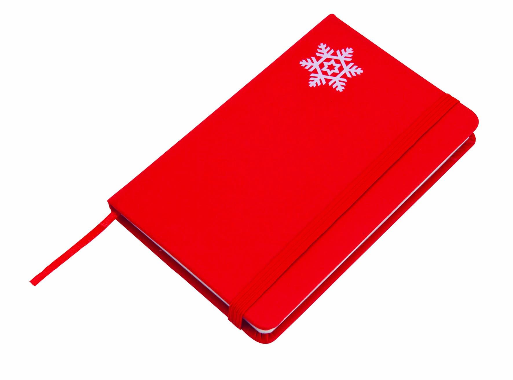 """Bloc Notes rouge de Noël """"Spirit"""""""