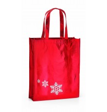 "Sac large de Noël rouge et flocons ""Tupid"""