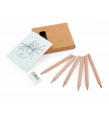 Set Crayons de couleur et Taille crayon Figgy
