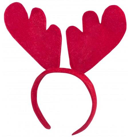 serre-tête avec Oreilles de renne Rudolph