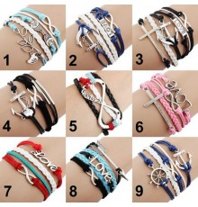 Bracelet Infinity Love aux Différents Modèles