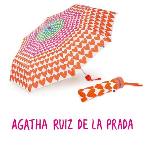 28e472b66e0 Parapluie Telsy -Agatha Ruiz De La Prada- - Objet publicitaire AVEC ou SANS  logo - Cade.