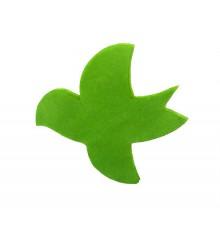Confettis Colombes vert 1kg