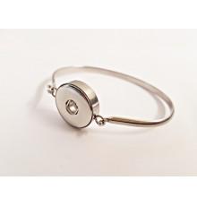 Bracelet crochet pour boutons pression