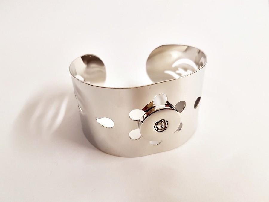 Bracelet AUTOMNE large pour boutons pression