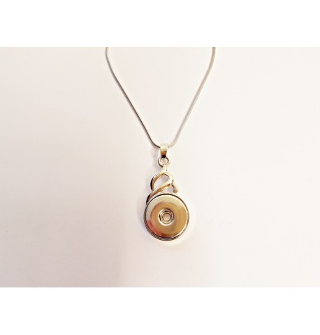 Collier spirale pour boutons pression