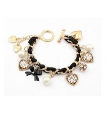Bracelet charms léopard