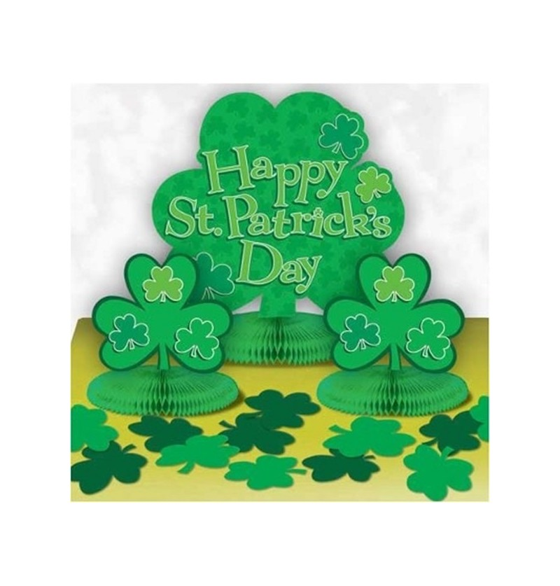 D coration de table saint patrick for Decoration saint patrick