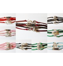 "Bracelet ""Infinity Love one direction"" mixte"