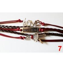 "Bracelet ""Infinity Love one direction"" mixte"