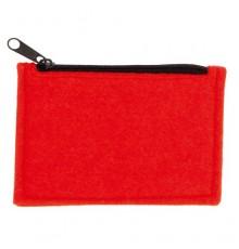 Porte Monnaie Yinax de Couleur Rouge