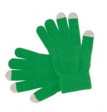 "Gant tactile ""Actium"" vert"