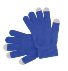 """Gant tactile """"Actium"""" bleu"""