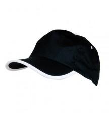 Casquette Estepona de Couleur Noir et Blanc