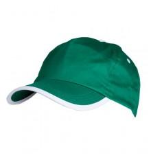 Casquette Estepona de Couleur Vert et Blanc