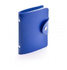 """Porte-cartes """"Midel"""" bleu"""