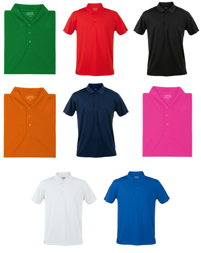 """Polo """"Tecnic Plus"""" de Tailles et Couleurs Différentes"""