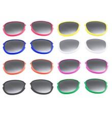Verres lunettes Options de Couleurs Différentes