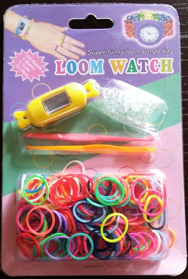 "Montre Loom Bands ""Bonbon"""