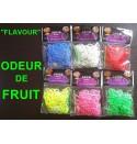 """300 élastiques fruités """"Flavour"""" Loom Bands"""