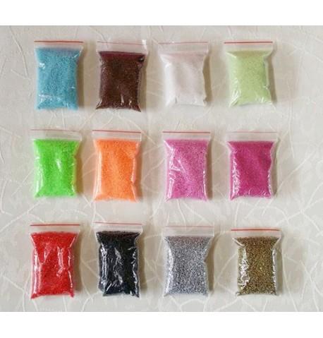 Sable coloré spécial bijoux en verre 20g
