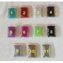 Micro billes pour bijoux en verre
