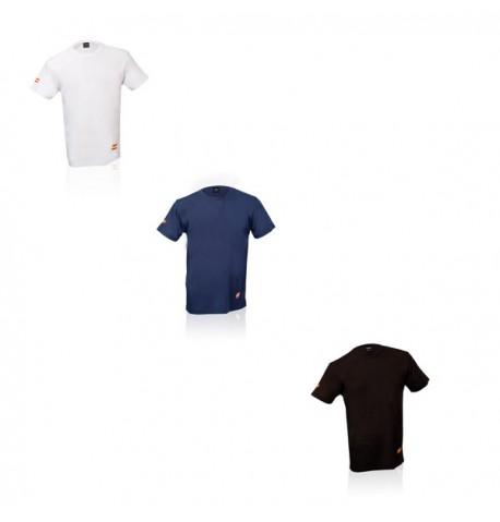 T-Shirt Tecnic Bandera de coloris différents