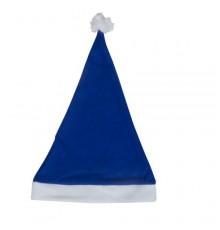 Bonnet papa noël bleu