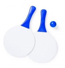 "Raquette plage ""Cupsol"" bleu"