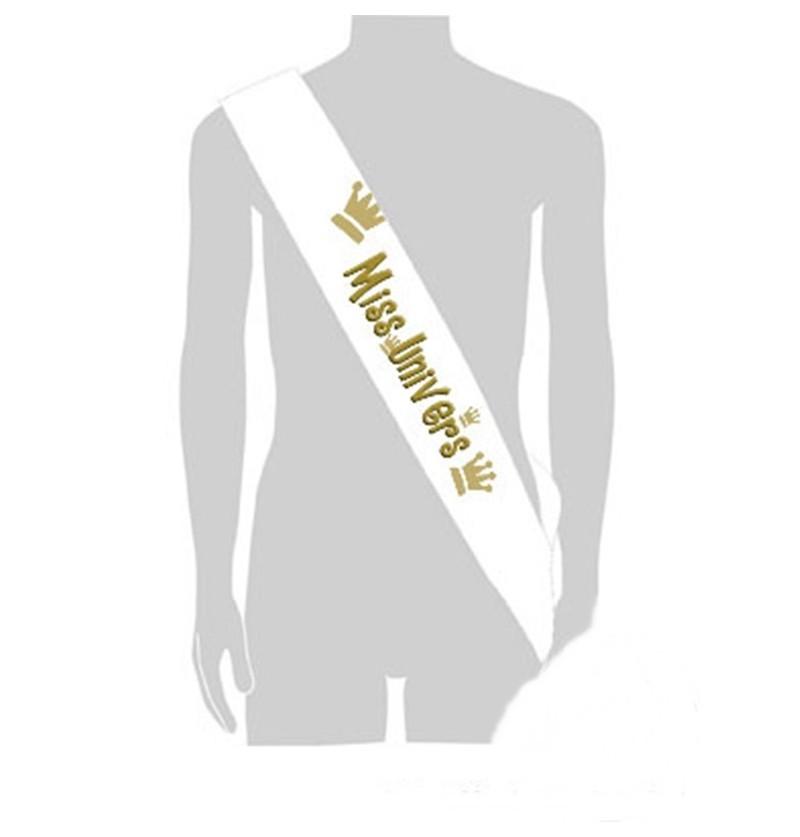 3944780a54b8 Echarpe Miss Univers