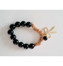 Bracelet perles et noeud