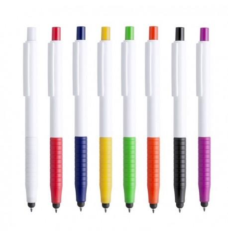 """Stylet bille """"Rulets"""" de coloris différents"""