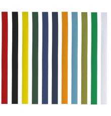 Bandes chapeau en polyester de coloris différents