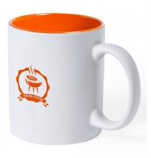 "Tasse ""Kulmer"" orange"