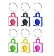 """Porte-clés monnaie """"Fliant"""" de coloris différents"""