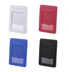 """Porte-cartes portefeuille """"Besing"""" de coloris différents"""