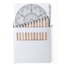 Set Crayon de Couleur Mandala Boltex