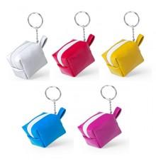"""Porte-clés porte monnaie """"Darnex"""" de coloris différents"""